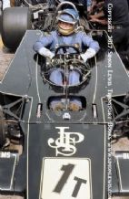 Lotus 76 Ronnie Peterson 1974 German GP pits. Photo